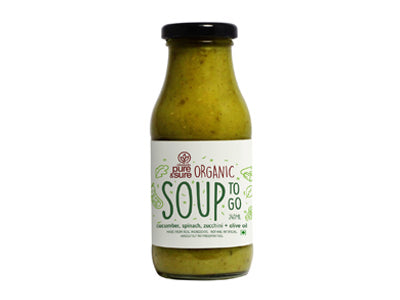 Organic Soup - Cucumber and Spinach - Orgpick.com