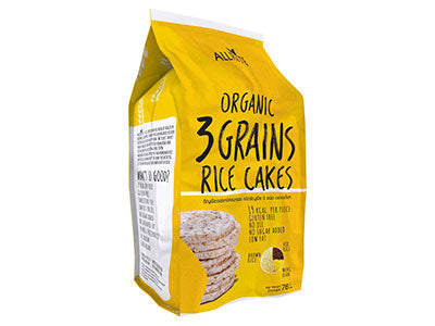 Organic 3 Grains Rice Cake