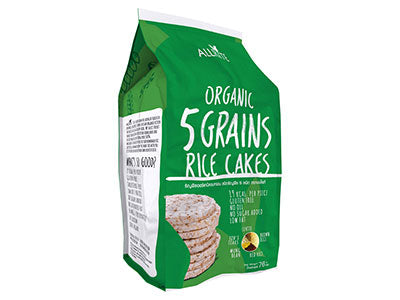 Organic 5 Grains Rice Cake