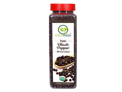 Organic Black Pepper (Geo-Fresh)