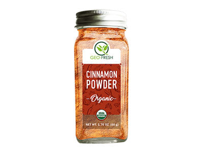 Organic Cinnamon Powder (Geo-Fresh)