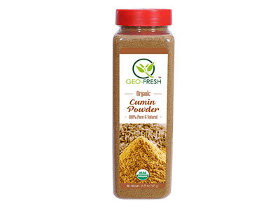 Organic Cumin Powder (Geo-Fresh)