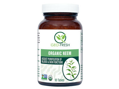 Organic Neem Tablet (Geo-Fresh)