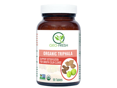 Organic Triphala (90 Tablet) (Geo-Fresh)