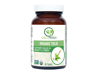 Organic Tulsi Tablet (Geo-Fresh)