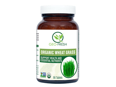 Organic Wheat Grass (90 Tablet) (Geo-Fresh)