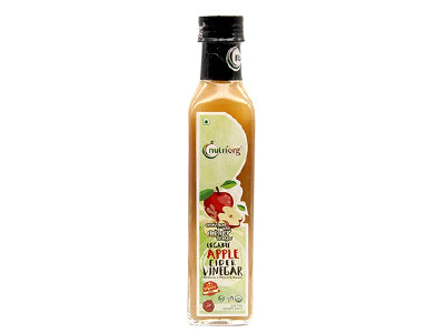 Buy Certified Organic Apple Cider Vinegar Online at Orgpick