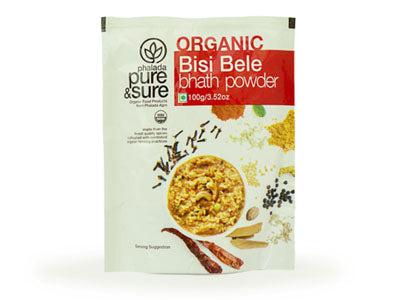 Organic Bisi Bele Bhath Powder (Pure&Sure)