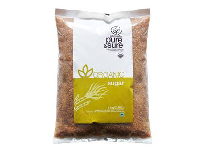 Buy Pure & Sure Organic Brown Sugar,1kg