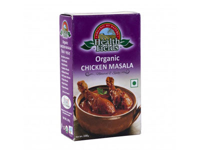 Organic Chicken Masala	(Health Fields)