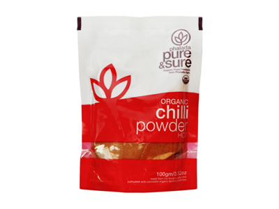 Buy Pure & Sure Organic Chilli Powder,100gm