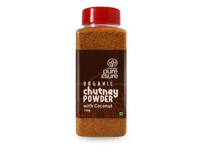 Organic Chutney Powder – Coconut (Pure&Sure)