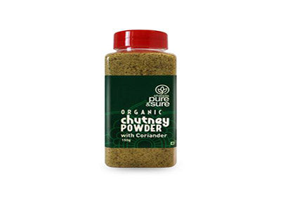 Order Pure & Sure Organic Chutney Powder-Coriander,150gm