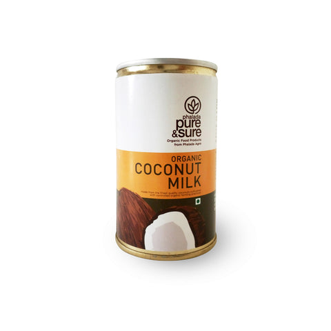 Buy Pure & Sure Organic Coconut Milk Online-Orgpick
