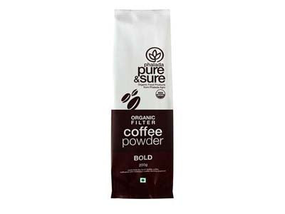 Buy Pure & Sure Organic Coffee Powder BOLD,200gm