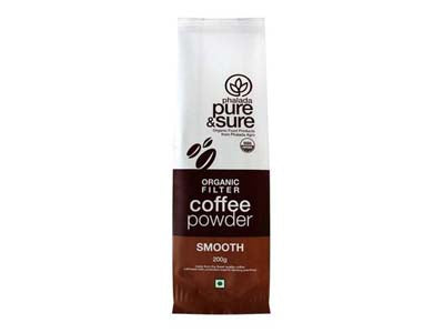 Organic Coffee Powder SMOOTH (Pure&Sure)