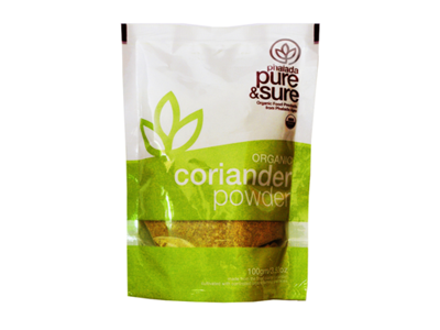 Organic Coriander Powder (Pure&Sure)