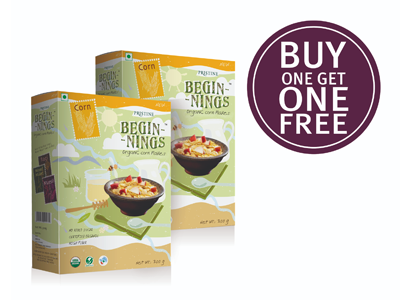Organic Corn Flakes (Buy 1 Get 1 Organic Corn Flakes)
