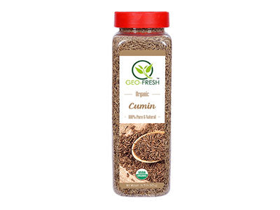 Organic Cumin Whole (Geo-Fresh)
