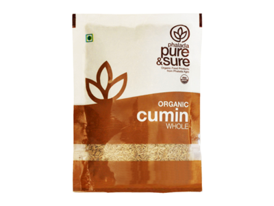 Organic Cumin Whole (Pure&Sure)