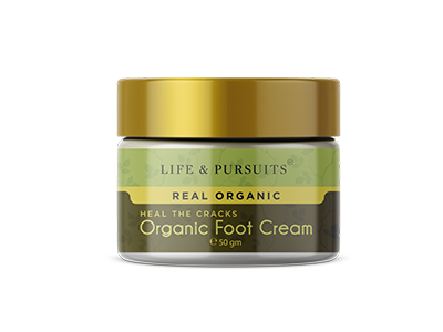 Organic Foot Healing Cream (Life & Pursuits)