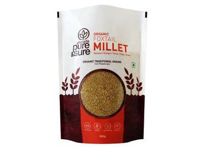 Order Pure & Sure Organic Foxtail Millet,500gm