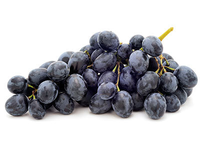 Residue Free Black Grapes