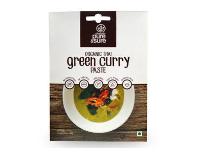 Organic Green Curry Paste (Pure&Sure)
