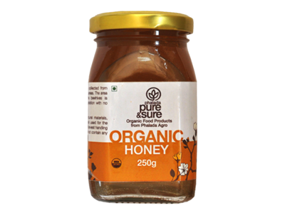Buy Pure & Sure Organic Honey,250gm