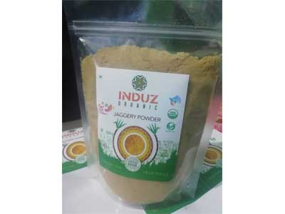 Buy Induz Organic Jaggery Powder Online At Orgpick