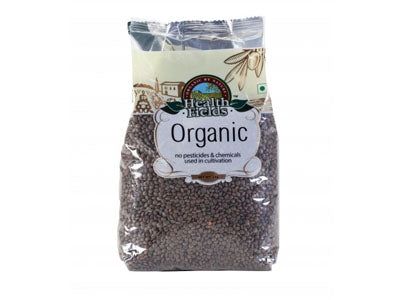Organic Masoor Dal / Red Lentil - Whole (Health Fields)