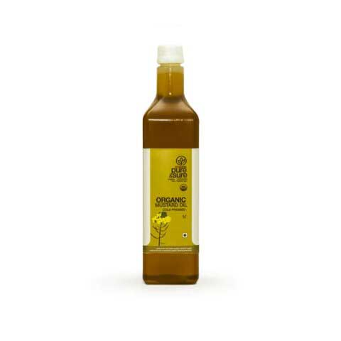 Buy Pure & Sure Organic Mustard Oil-Orgpick