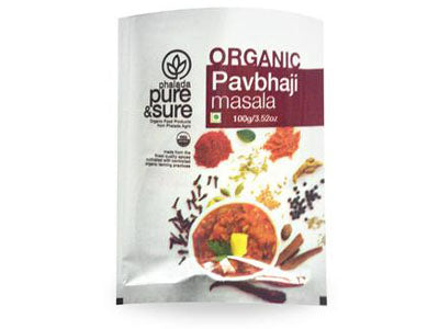 Buy Pure & Sure Organic Pav Bhaji Masala,100gm, Orgpick
