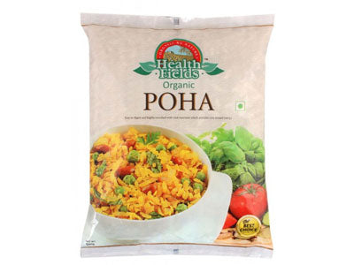 Organic Poha / Flattened Rice (Health Fields)