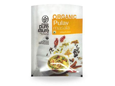 Buy Pure & Sure Organic Pulav Masala,100gm, Orgpick