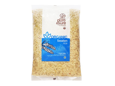 Organic Beaten Rice - Orgpick.com