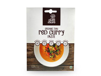 Organic Red Curry Paste (Pure&Sure)