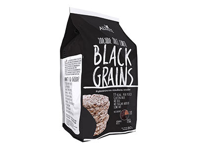 Organic Rice Cake Black Grains