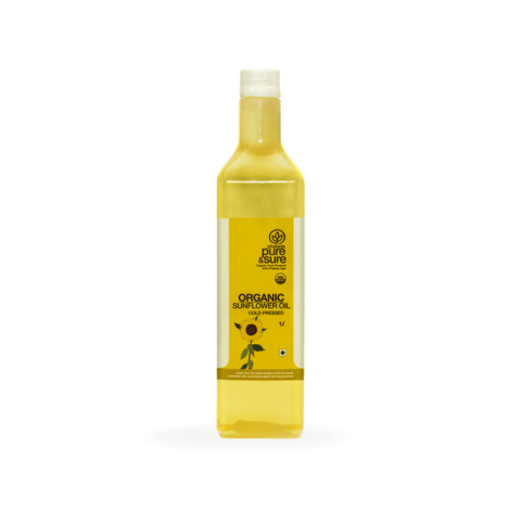 Organic Sun Flower Oil (Pure&Sure)