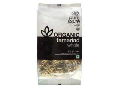 Organic Tamarind Whole (Pure&Sure)