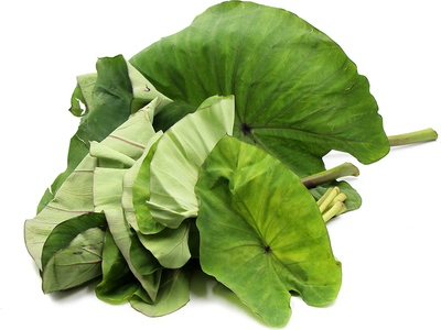 Organic Taro Leaves (Alu chi pan)