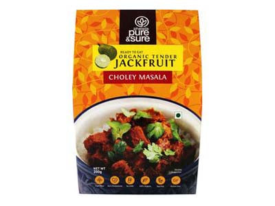 Organic Tender Jackfruit - Choley Masala (Pure&Sure)