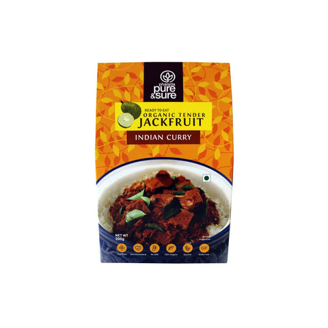 Organic Tender Jackfruit - Indian Curry - Orgpick.com