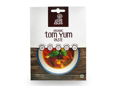 Buy Pure & Sure Organic Tom Yum Paste,50gm