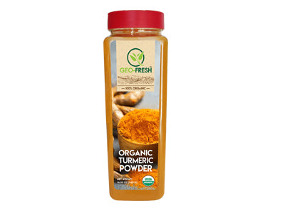 Organic Turmeric Powder (Geo-Fresh)