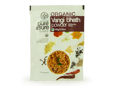 Organic Vangi Bhath Powder (Pure&Sure)