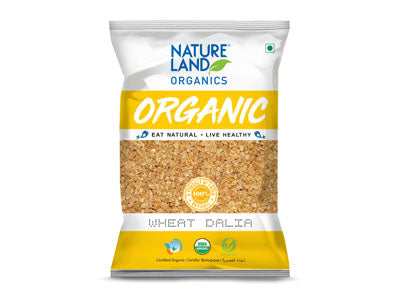 Buy Natureland's Organic Wheat Dalia(Porridge) Online At Orgpick