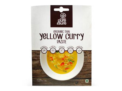 Organic Yellow Curry Paste (Pure&Sure)