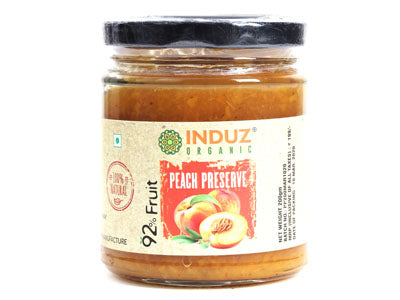 Buy Natural Peach Preserve Online at Orgpick