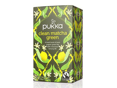 Organic PUKKA Clean Matcha Green Tea (Pure&Sure)